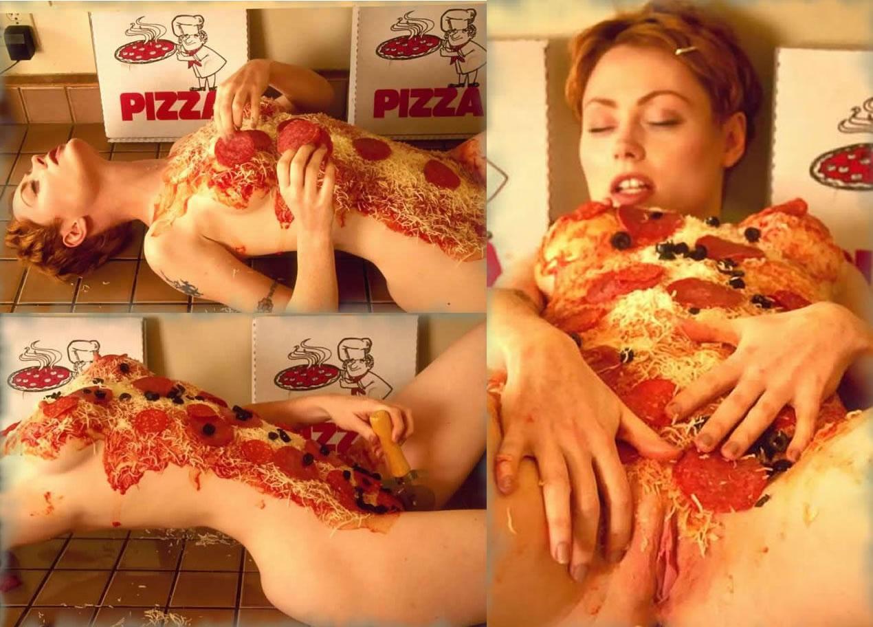 Порно фото с пицей фото 448-698